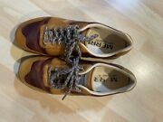 Merrell Beeswax Solo Lux Brown Leather Sneakers Shoes Air Cushion - Menand039s 9