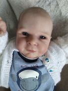 Realistic Reborn Baby Boy Ethon By Cassie Brace With Coa