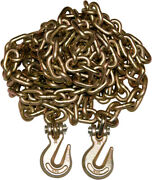 50 Pack 3/8 20and039 G70 Tow Chain Tie Down Binder With Grade 70 Hooks
