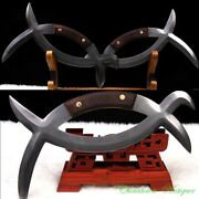 Battle-axe Used In Ancient China Meridian Yuanyang Sword Pattern Steel 3403