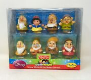 Fisher Price Little People Disney Snow White And The Seven Dwarfs 2012 New Nib