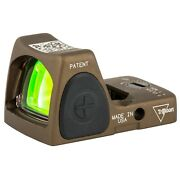 Trijicon Rmr Type 2 Adjustable 3.25 Moa Hard Anodized Coyote Brown Finish