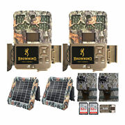 Browning Trail Cameras 20mp Recon Force Edge Trail Camera Bundle 2 Pack