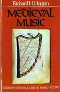 Medieval Music By Richard H. Hoppin New