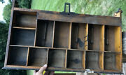 Antique Brass National Cash Register Wood Drawer Ncr 500 900 Class Arts And Crafts