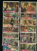 Lot 27 1956 Topps Davy Crockett Orange Back Cards Vgex To Ex Clean Swsw6