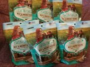 6 Packages Pioneer Woman Dog Treats Beef And Brisket Recipe 5 Oz Bags 07/21