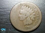 1876 Indian Head Cent Penny -- Make Us An Offer K0607