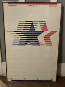 Los Angeles 1984 Olympic Games Poster - Signed By Robert Miles Runyan