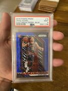 2018-19 Trae Young Prizm Blue Fast Break Rookie Psa 9 /175 Hot