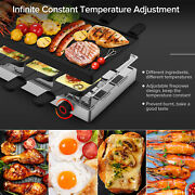 Table Grill 1500w Heating Electric Grill Non-stick Machine Washable Plate