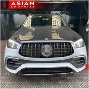 Body Kit For Mercedes Benz Gle V167 2018+ With Amg Package Front Bumper Diffuser