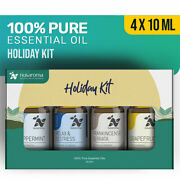 Nusaroma Holiday Kit Therapeutic Relax And Destress Blends Calming Stress Relief