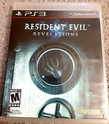 Resident Evil Revelations Ps3 Playstation 3 - Complete - No Scratches