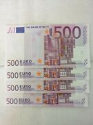 500 Euro Germany X Series Uncirculated Banknote