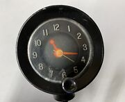 1960 61 62 63 64 Pontiac Olds Buick Top Of Dash Accessory Clock Used Oem