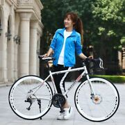 700c Aluminum Alloy Road Bike 21 27 And 30 Speed Road Bicycle Double Disc Brake