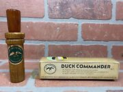 Rare Vintage Duck Commander Regular Wood Dc-200 Duck Call Possibly 70s Or 80s