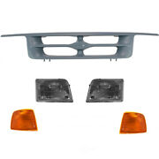 Grille Diy Solutions Gri00060 Fits 95-97 Ford Ranger
