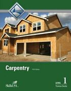 Carpentry Level 1 Trainee Guide, Paperback By Nccer Used