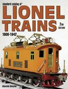 Standard Catalog Of Lionel Trains 1900-1942 By David Doyle New