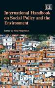 International Handbook On Social Policy And The Environment By Tony Fitzpatrick
