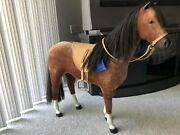 American Girl Doll Horse With Saddle Vintage 1990s
