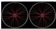 Industry Nine 29 15x110/12x148mm 32h 6 Bolt Xd All Red W2be39brraee2