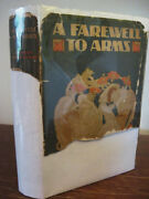 Farewell To Arms Ernest Hemingway 1st Edition Nobel Prize First Printing Novel