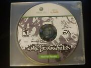 Need For Speed Most Wanted Xbox 360, 2005 Not For Resale, Rare, Tested