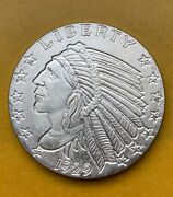 Golden State Mint Indian Head Eagle 1oz .999 Fine Silver Round - Free Ship Us