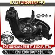 Front Right Wheel Steering Hub Knuckle Assembly For Volkswagen Beetle Golf Jetta