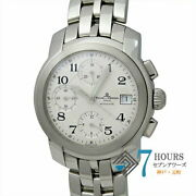 Baume And Mercier Mv045216 Cape Chrono White Dial Ss Automatic Menand039s Watch