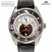 Citizen Campanora Deep Scarlet Bu0020 03b Used Menand039s Watch Dd Lacquered Dial Ec