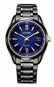 Citizen As7164-99l Wristwatch Exceed Titanium Technology 50th Anniversary Cosmic