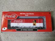 Athearn Ho Scale Train Coke Coca Cola 40and039 Steel Reefer 8324 Nrfb