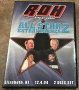 Roh All Star Extravaganza 2 2004 Dvd Ring Of Honor Wwe Wcw Ecw Tna Pwg Aew