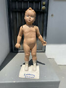 Vintage 40and039s Nanette Babe Frocks Store Display Mannequin Children Child W/stand