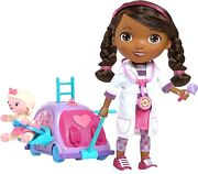 Disney Doc Mcstuffins Walk Nand039 Talk Doc Mobile Doll Brand New In Package Rare