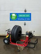 Duracable Sled Sewer Drain Pipe Cleaning Machine Dm52 W/ 3/4 Cable Autofeed