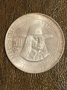 1971 Silver Peru 50 Soles 150th Anniversary Of Independence Tupac Amaru Coin
