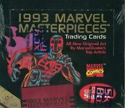 1993 Marvel Masterpieces Trading Cards Box Factory Sealed