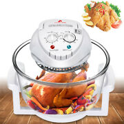 12liter Infrared Air Fryer Turbo Convection Oven Roaster Oil Free W/ Recipe Book