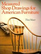 Measured Shop Drawings For American Furniture By Thomas Moser Used