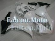 Pearl White Black Injection Fairing Fit For 09 10 11 Yzf R1 Abs Plastics Set Aab