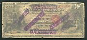 """1865 5 Traders Nb Of Chicago, Il National Currency """"contemporary Faux"""""""