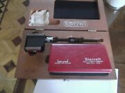 Starrett Last Word Dial Indicator2pc. Plus Base In Wooden Box Incomplete
