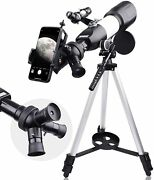 Telescopes For Adults Astronomy 2021 Latest Refractor Telescope With Rotatable E