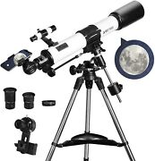 Telescopes For Adults 80mm Aperture And 700mm Focal Length Astronomy Refractor T