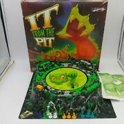 It From The Pit Vintage Board Game By Milton Bradley - Working Condition